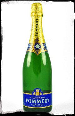 Pommery - flaske med ramme
